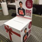 customized box, lucky draw box