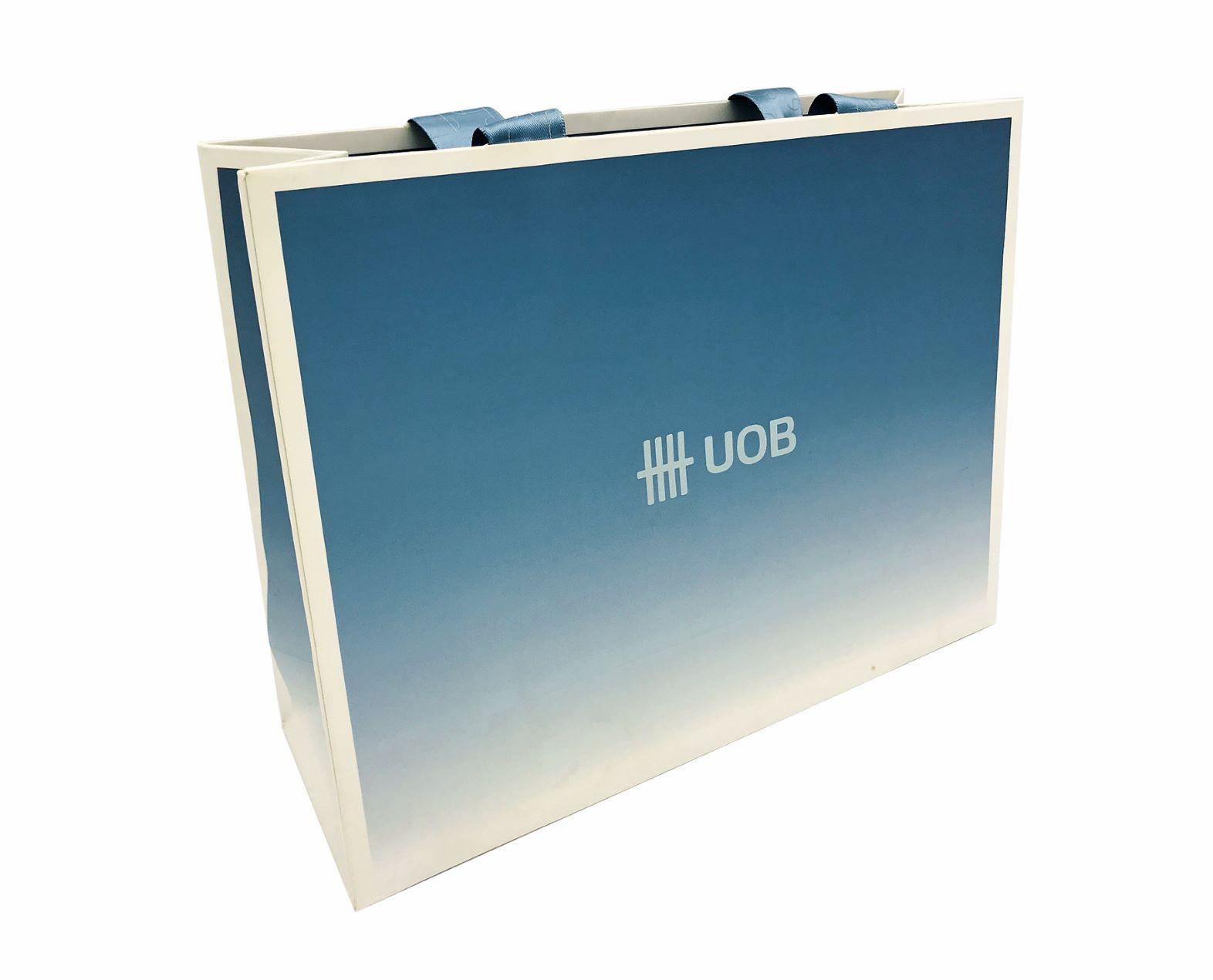 paper bag, corporate branding