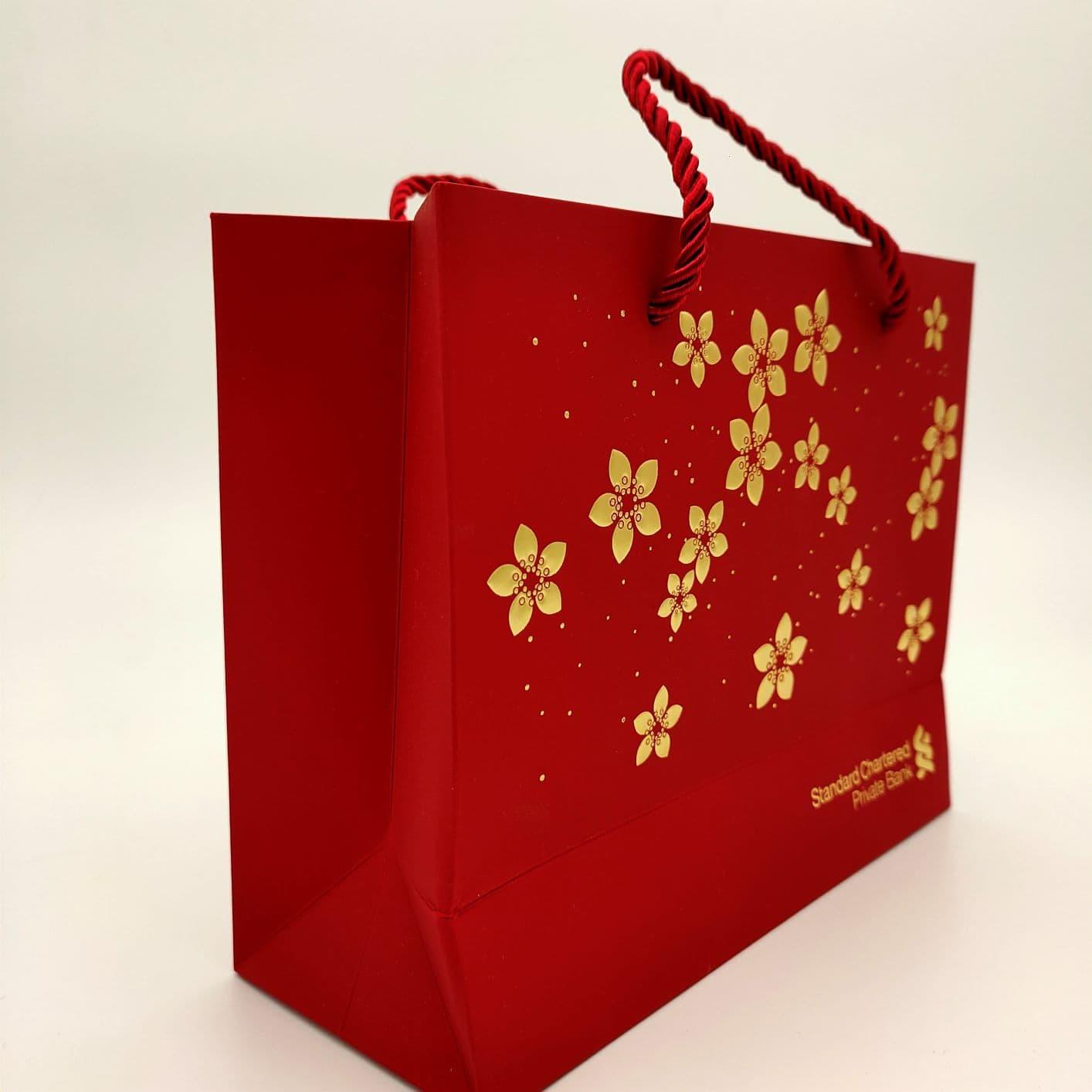 paper bag, festive bags